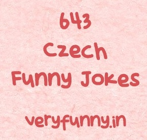 Czech Funny Jokes