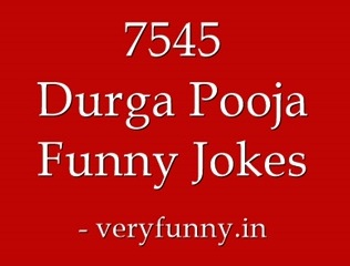 Durga Pooja Funny Jokes