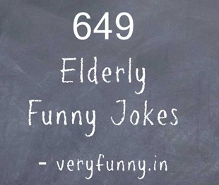 Elderly Funny Jokes