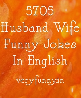 Husband Wife Funny Jokes In English