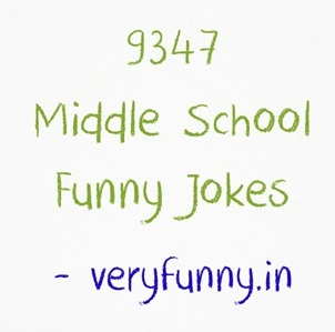Middle School Funny Jokes