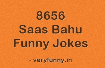 Saas Bahu Funny Jokes