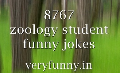 zoology student funny jokes